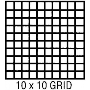 "Clearprint® 1000H Series 18 x 24 Vellum 10-Sheet Pack 10x10 Grid: Sheet, 10"" x 10"", 10 Sheets, 18"" x 24"", 16 lb"