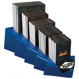 "Rhodia Sketch/Memo Pad Display: White/Ivory, Pad, 5"" x 5"", Various, 80 Sheets, Multi, 20 lb, (model RB12D), price per each"