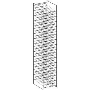 Art Wire Works Paper Display: Racks for 12