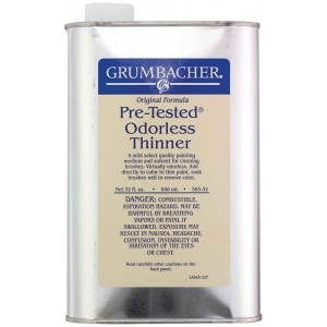 Grumbacher® Pre-Tested® Odorless Paint Thinner