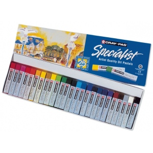 Cray-Pas® Specialist® Oil Pastel 25-Color Set: Multi, Stick, Oil, (model ESP25), price per pack
