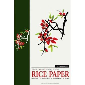 Richeson Rice Paper Pad