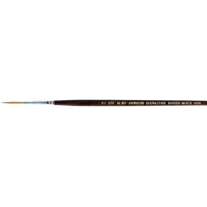 Mack Alan Johnson Signature Brush: Size 4/0