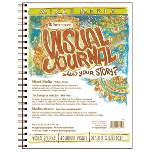 Strathmore® Vellum Wire Bound Mixed Media Book