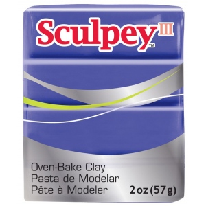 Sculpey® III Polymer Clay Purple: Polymer