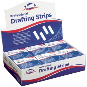 Alvin Drafting Strips Display