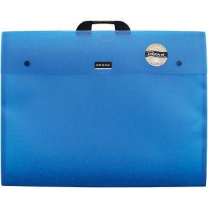 "Dekko Polypropylene Folio 14"" x 18"" Electric Blue"