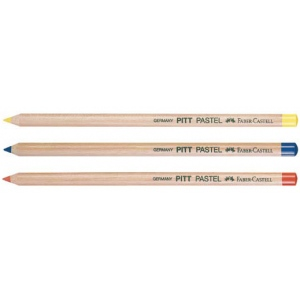Faber-Castell PITT Pastel Pencil: Light Yellow Ochre