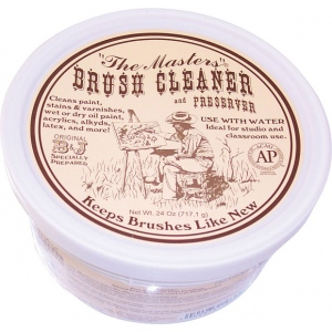 The Masters® Brush Cleaner 24oz: 24 oz, Soap & Cleaners, (model G103), price per each