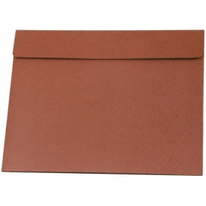 "Star® 23"" x 31"" Expanding Wallet: Red/Pink, Fiberboard, 23"" x 31"", (model E31), price per each"