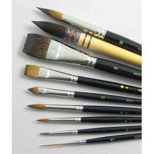 Trinity Brush Inspiration Set of 9 Art Brushes