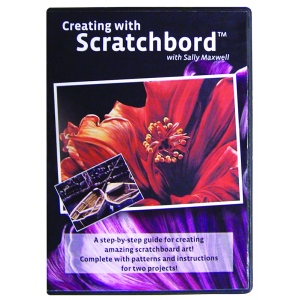 Ampersand Sally Maxwell Scratchboard DVD: Case of 5