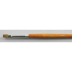 Kolinsky Sable Long Handle Bright Brush # 6 (Made in Russia)