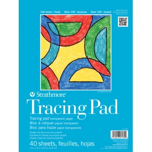 "Strathmore 9"" x 12"" Tape Bound Tracing Pad"