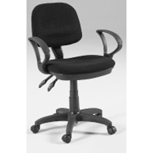 Martin Vesuvio Desk Height Seating Chair: Gray