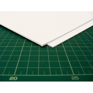 "Taskboard® White Taskboard sheets 1/32"" thick 20"" x 30"" - 100/Bx: White/Ivory, Sheet, 100 Sheets, 20"" x 30"", (model TB0100-W), price per 100 Sheets box"