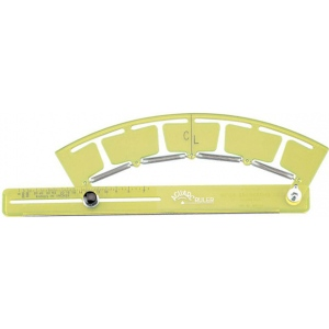 Acu-Arc Adjustable Ruler Inches
