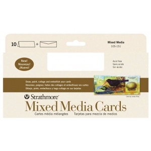 Strathmore® 400 Series Mixed Media Cards 10-Pack