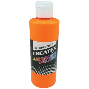 Createx™ Airbrush Paint 2oz Fluorescent Sunburst: Yellow, Bottle, 2 oz, Airbrush, (model 5410-02), price per each