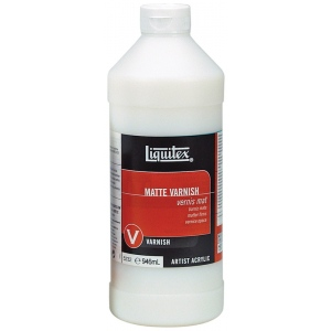 Liquitex® Matte Varnish 32oz: Matte, 32 oz, Varnish, (model 5232), price per each