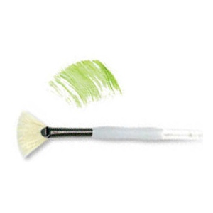 Royal & Langnickel® Soft Grip™ Stiff Hog Bristle Fan Brush