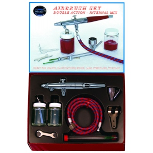 Paasche Model VL-202S Airbrush with Metal Handle-Set
