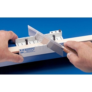 Midwest Easy Miter Box with Saw: Box, (model MW1136A), price per each