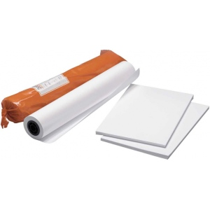"Clearprint® 9040IJ 36 x 50yd Bond Plotter Sheets: White/Ivory, Matte, Roll, 36"" x 50 yd, 24 lb"