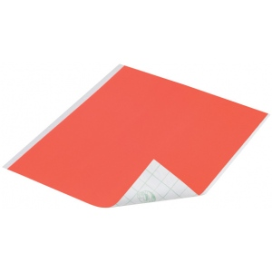 "Duck Tape® Neon Orange Tape (Sheet): Orange, Sheet, 8 1/4"" x 10"", Color"