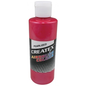 Createx™ Airbrush Paint 4oz Pearlescent Red: Red/Pink, Bottle, 4 oz, Airbrush, (model 5309-04), price per each