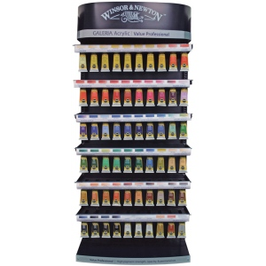 Winsor & Newton Galeria Acrylic Paint Display