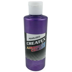 Createx™ Airbrush Paint 4oz Pearlescent Purple: Purple, Bottle, 4 oz, Airbrush, (model 5301-04), price per each