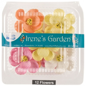 "Blue Hills Studio™ Irene's Garden™ Box O'Magnolias Mixed Bouquet: Multi, Paper, 1 1/4"" - 1 1/2"", Dimensional, (model BHS107533), price per box"