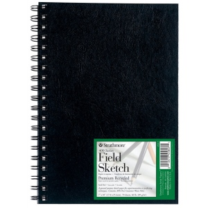 Strathmore® 400 Series Wire Bound Field Sketch Book