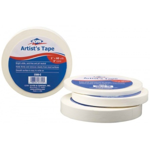 "Alvin® Artist's Tape 1"" x 60yds: Artist, 1"", (model 2500-C), price per each"