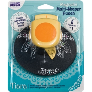 Blue Hills Studio™ Multi-Shaper Magnetic Punch Tiara: Border, Circle, Corner, Oval, Square, (model BHS621), price per each