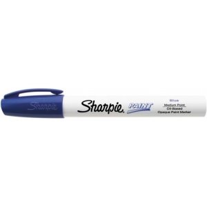 Sharpie® Oil Paint Marker Medium Blue: Blue, Paint, Medium Nib