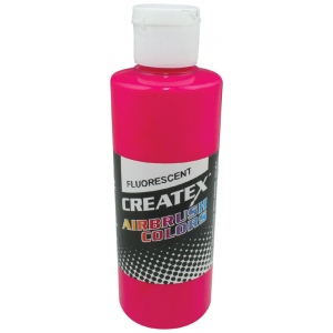 Createx™ Airbrush Paint 4oz Fluorescent Magenta: Red/Pink, Bottle, 4 oz, Airbrush