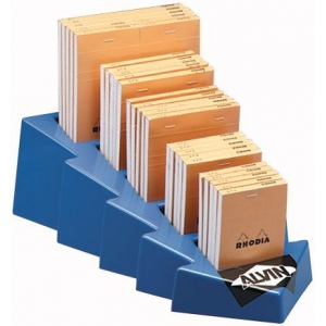 Rhodia Sketch/Memo Pad Display: Pad, Various, Gridded, Orange, 80 Sheets, Multi, (model RA12D), price per each
