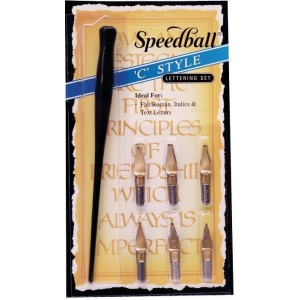 Speedball C-Style Lettering Set