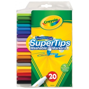 Crayola Washable Marker 20-Color Set