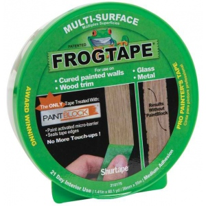 "Frog Tape® 1.41"" Tape: 60 yd, Paint, 1.41"", (model FT1358465), price per each"