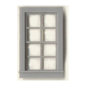 "1/4"" Scale Architectural Components: Window Sets"