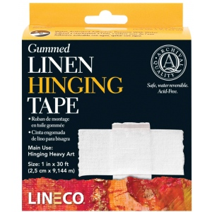 Lineco® Water-activated Gummed Tapes