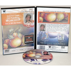Gretchen Cagle DVD: Still Life Oil Painting, Volume II (1 Hour)