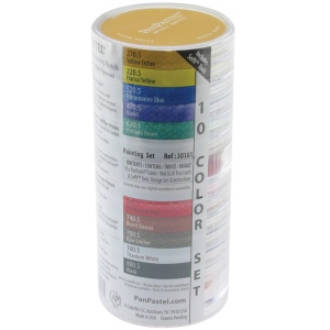 PanPastel® Ultra Soft Painting Pastels 10-Color Set: Multi, Pan, Ultra Soft, (model PP30101), price per set