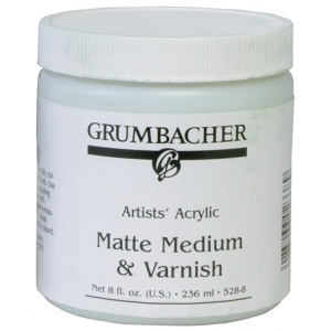 Grumbacher® Medium and Varnish for Acrylics