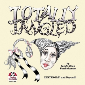 Zentangle® Totally Tangled Book: Book, (model DO5360), price per each