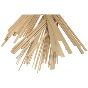 "Alvin® Balsa Wood Strips 3/16 x 3/16: Strip, 40 Strips, 3/16"" x 36"", 3/16"""