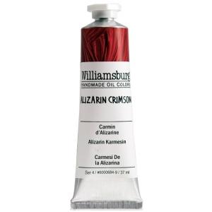 Williamsburg handmade oil paint 37ml alizarin crimson for Oil paint price